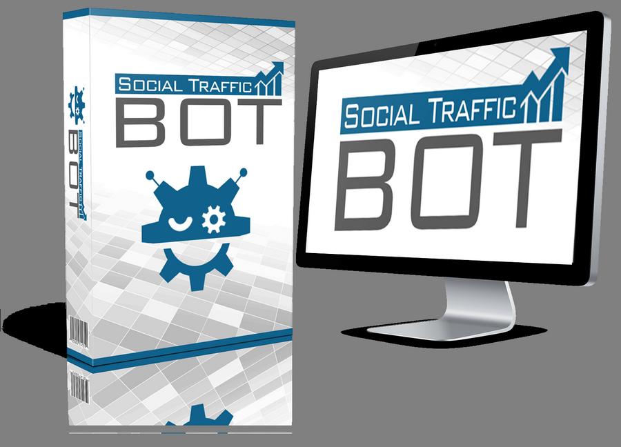 Social Traffic Bot — вирусная спираль привлечения трафика